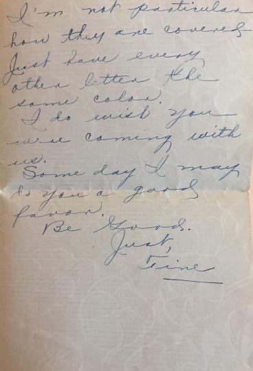 Written October 6, 1923