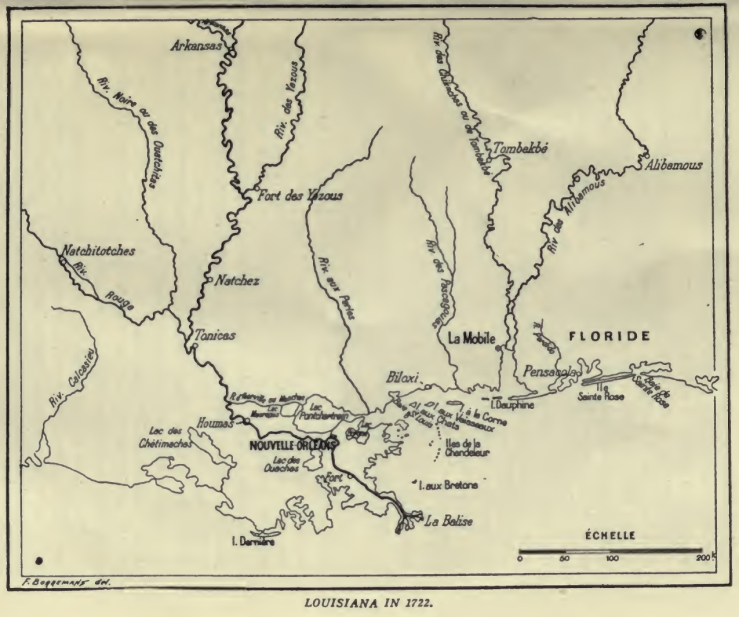 Louisiana in 1722